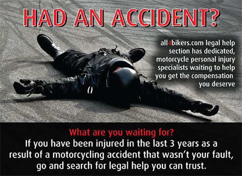 Legal Help on all4bikers.com